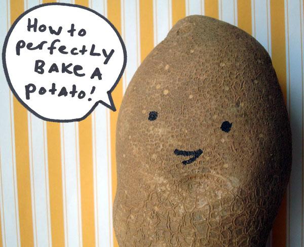 Cartoon - How to Perfectly Bake a Potato on Bluprint.com