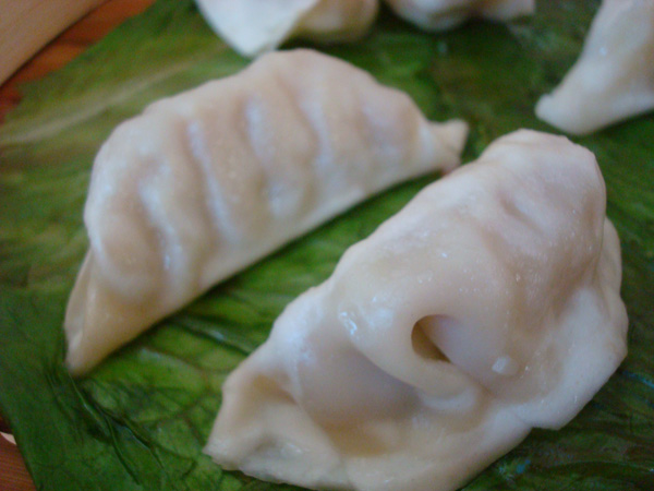Dumplings Steamed to Perfection