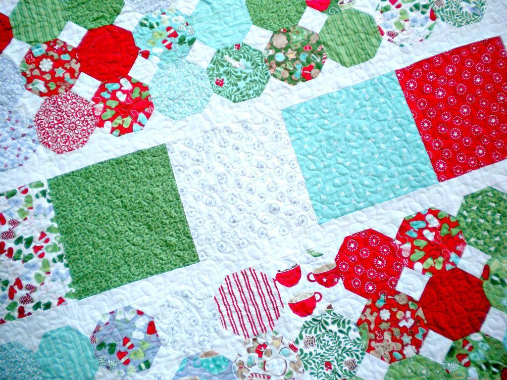 Patchwork Throw Quilt - Pattern