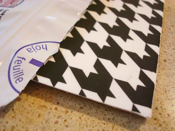 Storing Sugar Sheets in a Sealed Bag