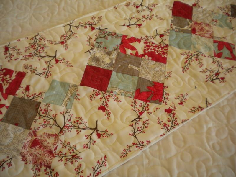 Quilted Holiday Table Runner