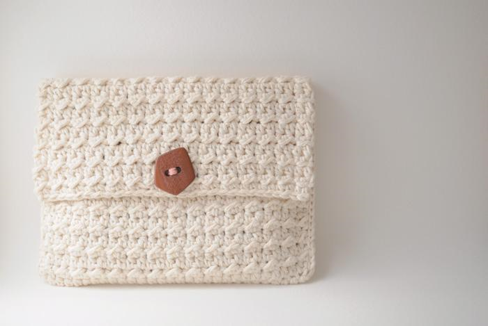 Crocheted Clutch - Pattern on Craftsy