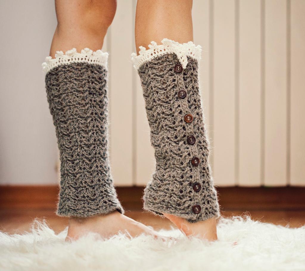 luxury leg warmers