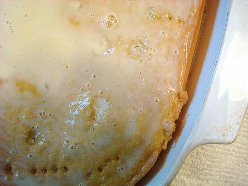 Cake in Pan