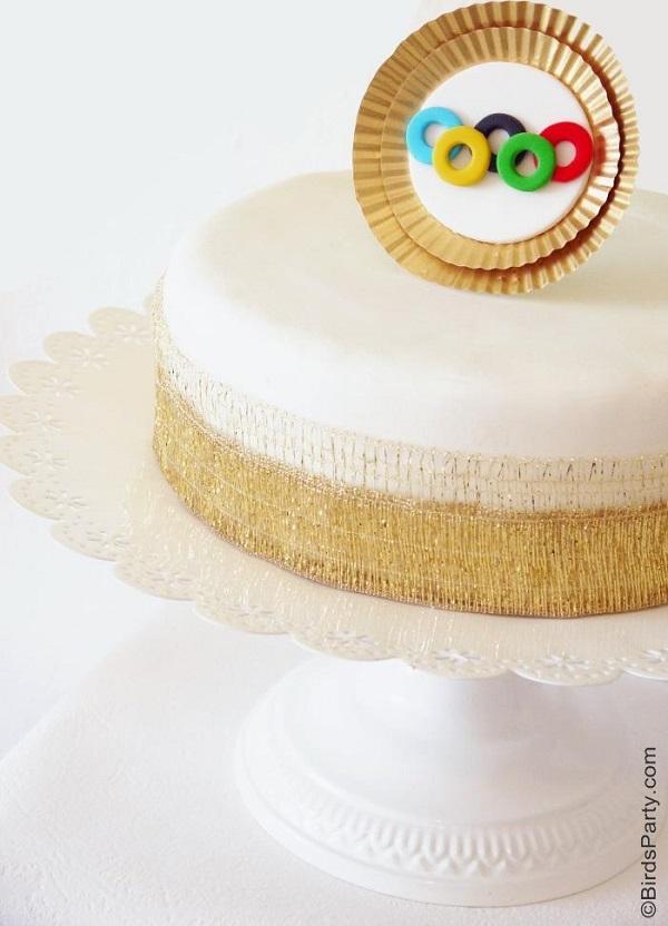 Iconic Rings Cake