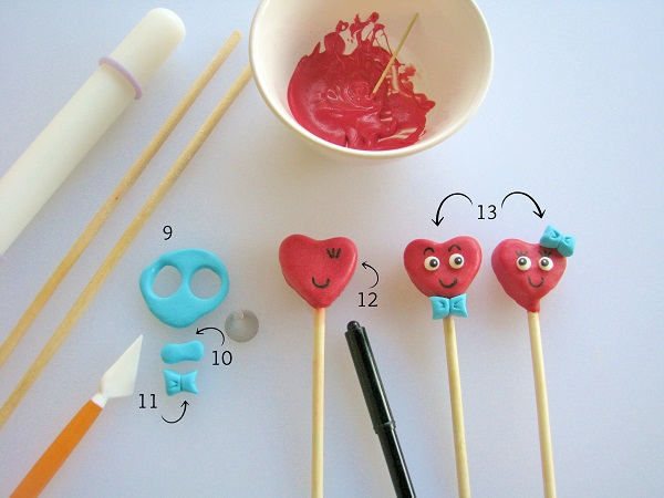 Toothpick - Adding Details to Cake Pops