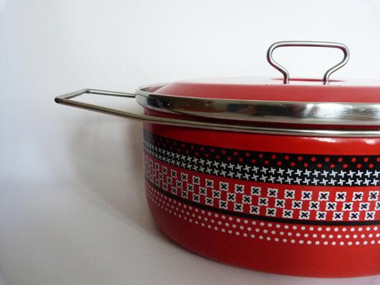 Red Casserole Pan