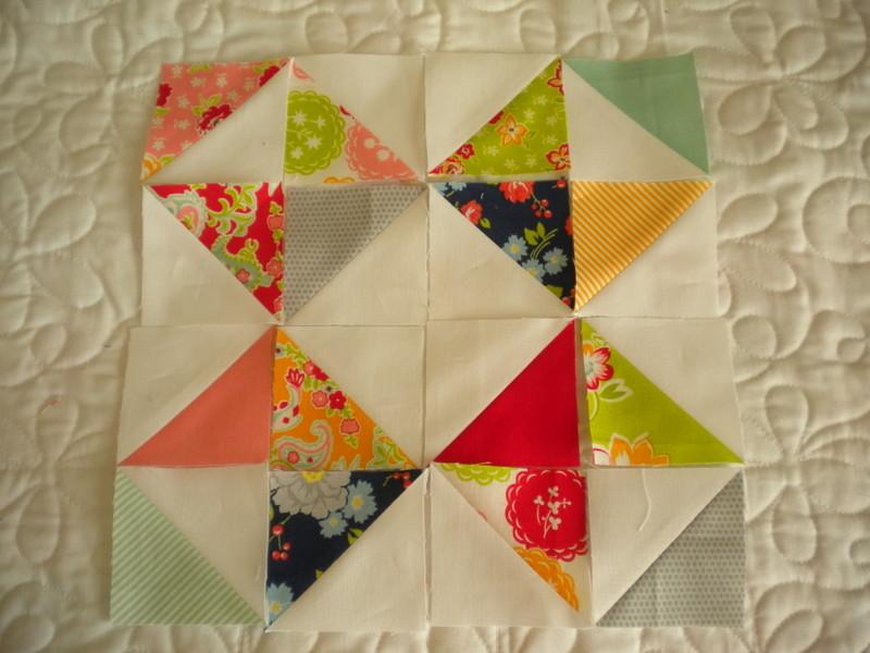 Design Example for Half Square Triangles