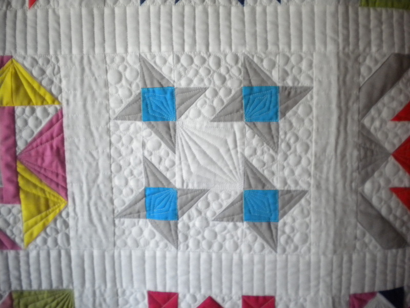 Quilt Featuring Pinwheels