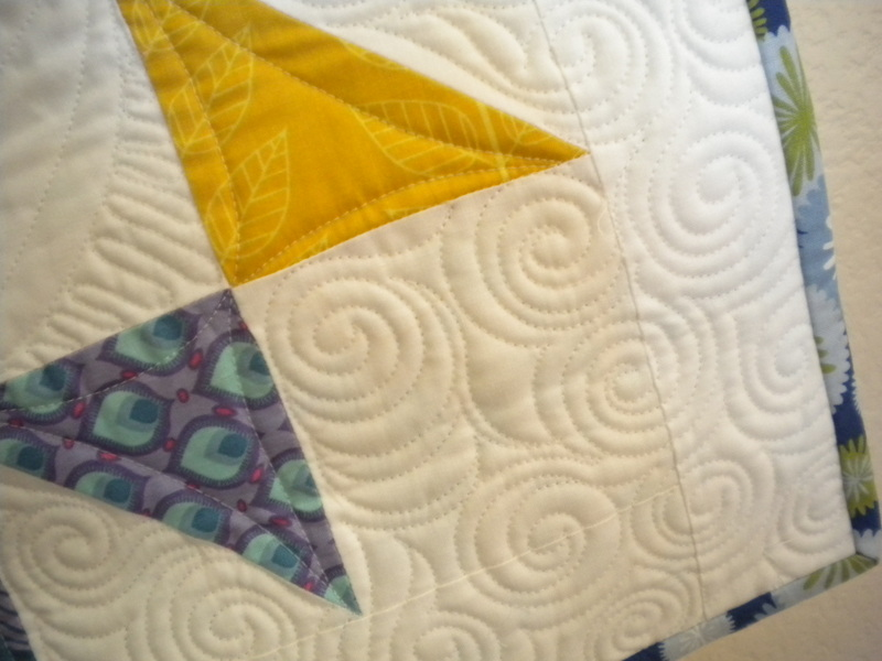 Quilt with Beautiful Stitching