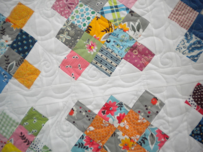 Lovely Patterned Quilt Design