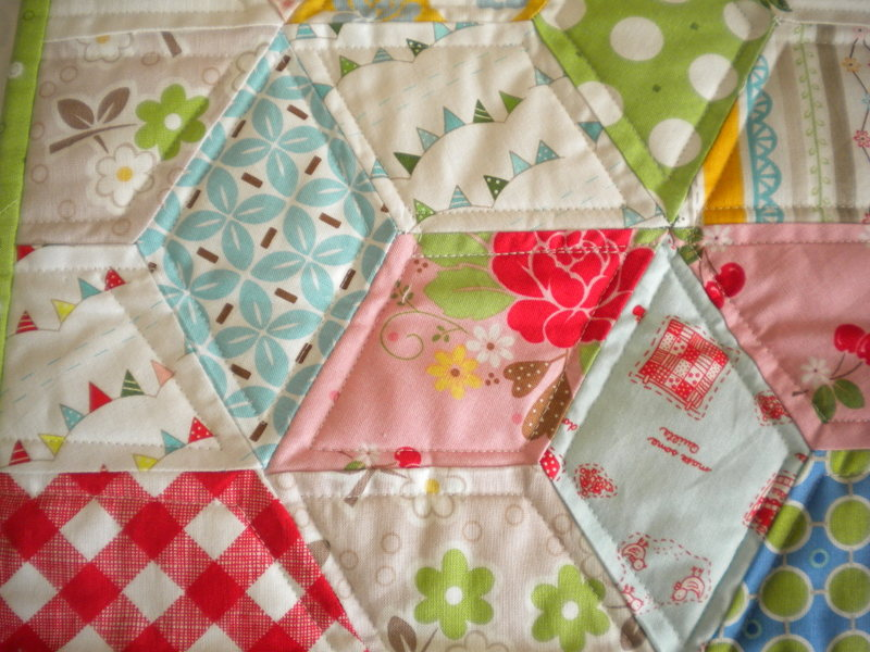 Colorful Patterned Quilt