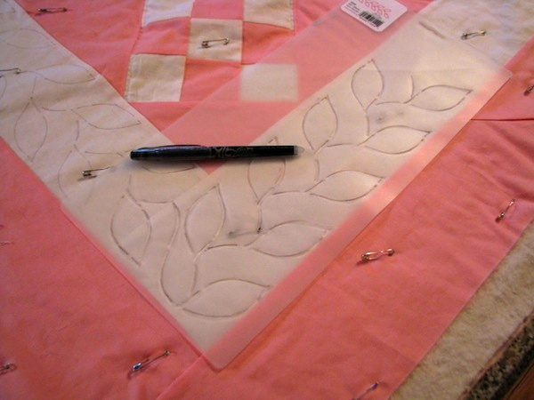 Quilting with Stencils