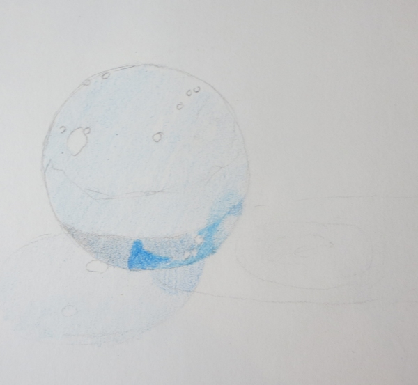 Shading with Colored Pencils