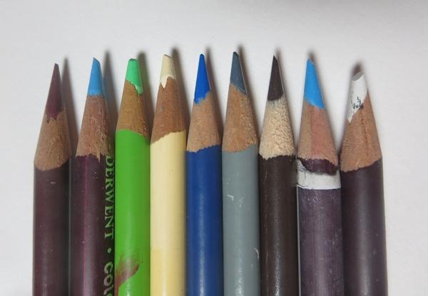 Colored Pencil Palette