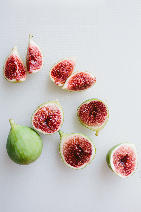 Halved Figs for Antipasto Plate