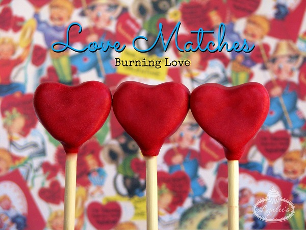 Heart Cake Pops - Love Matches on Craftsy