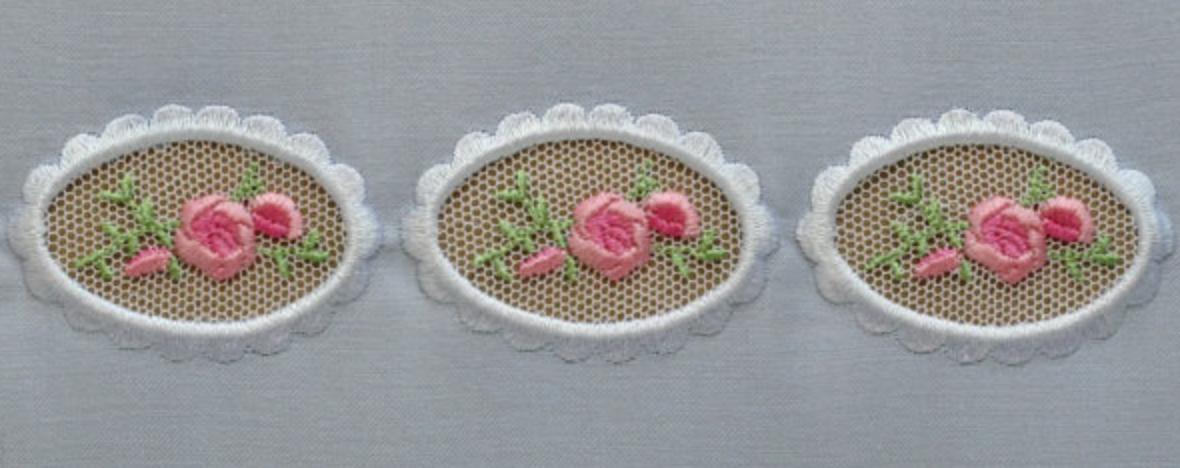 Peek-a-boo Effect - Embroidery Design