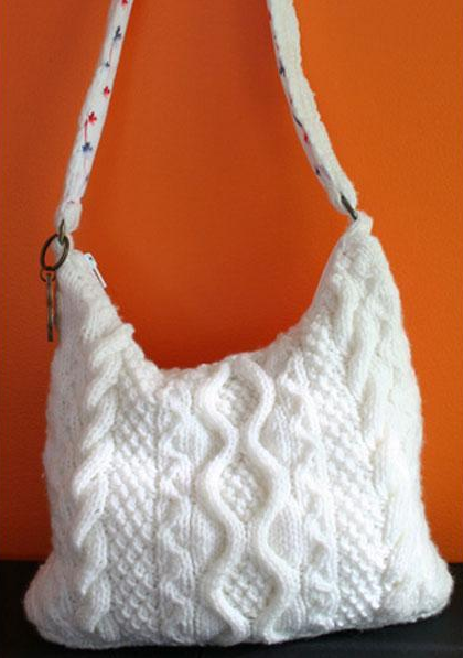 Knitted Tote - Free Pattern