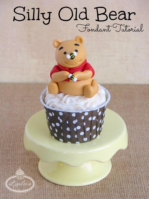 Fondant Winnie the Pooh - Tutorial on Bluprint