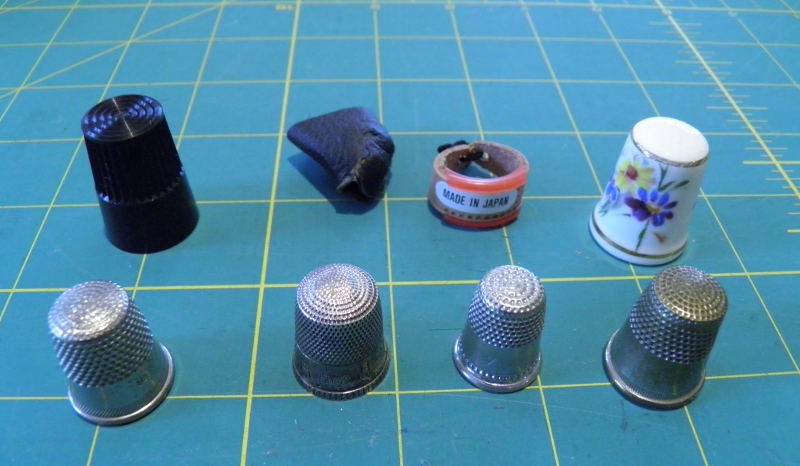 Thimbles for Couture Sewing