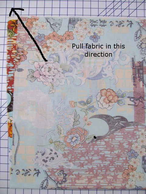 Pulling Fabric in One Direction
