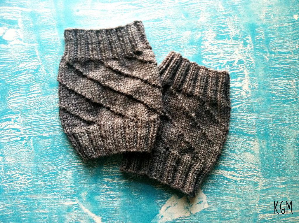 Hurricane knit boot cuffs