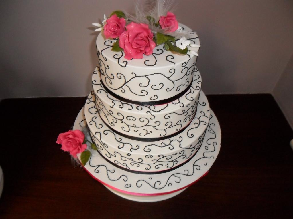 Tiered White Cake - Project on Bluprint