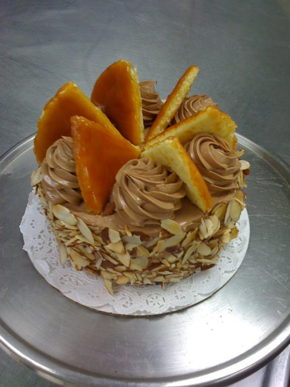 Torte Topped with Caramel - Bluprint Member Project