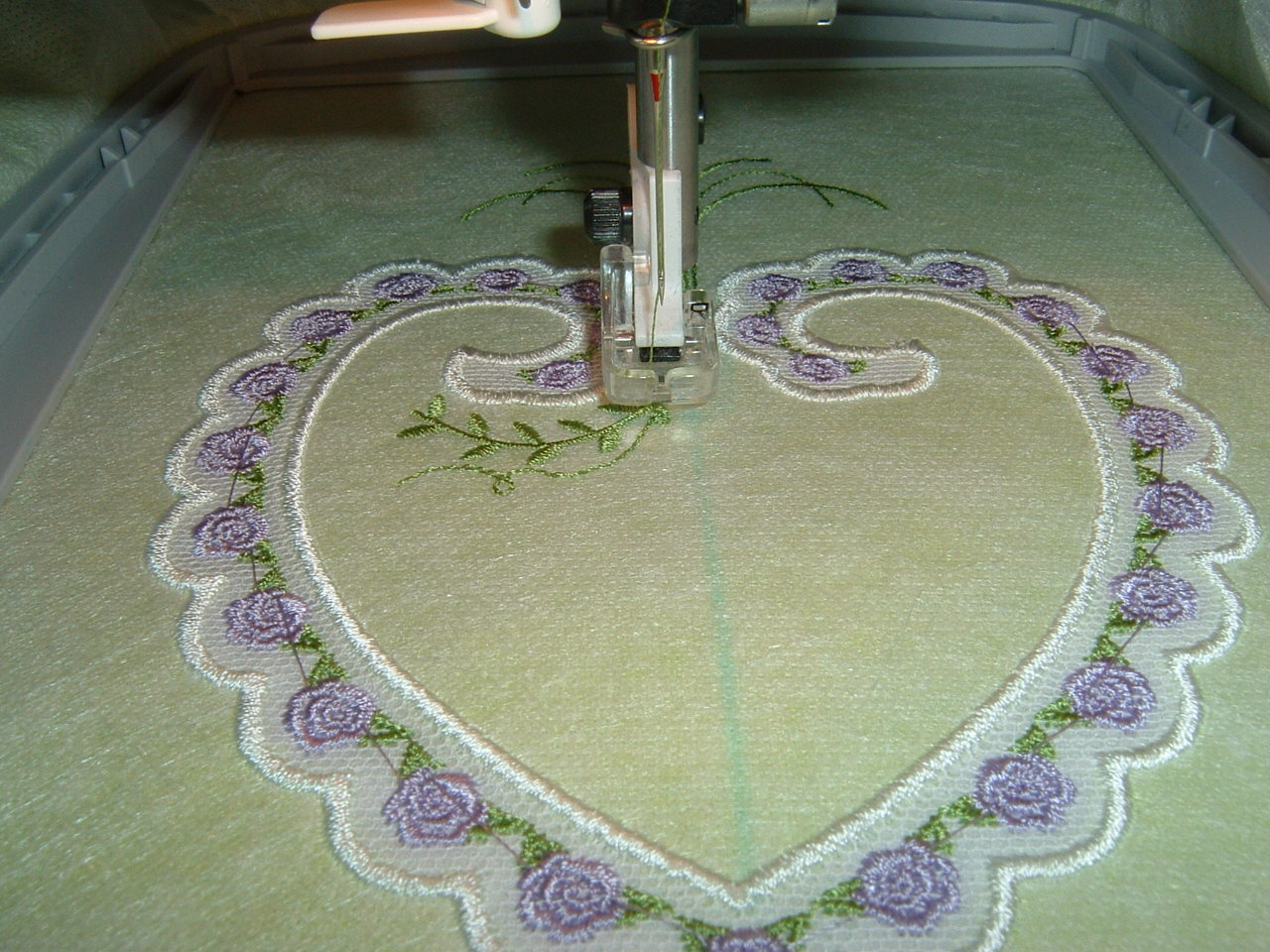 In the Hoop - Machine Embroidery