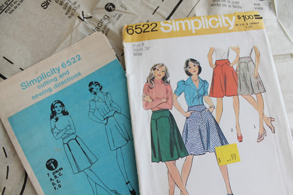 Authentic Vintage Sewing Patterns