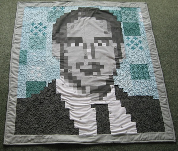 Pixel Quilt of Ryan Gosling