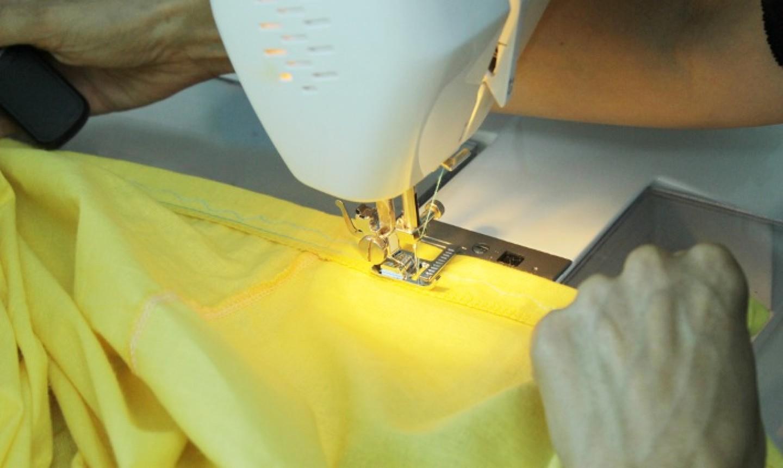 coser sábana bajera