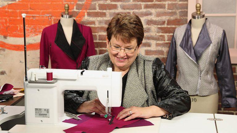Coser mejor, coser más rápido: Construcción inteligente