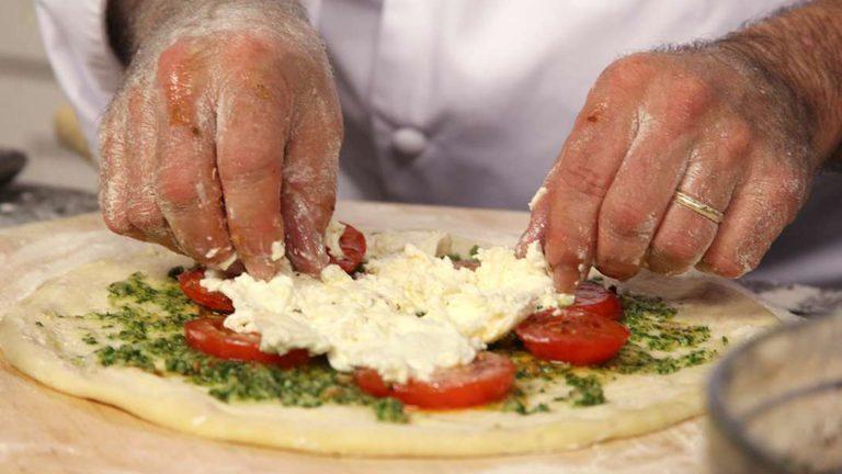 Pizza perfecta en casa