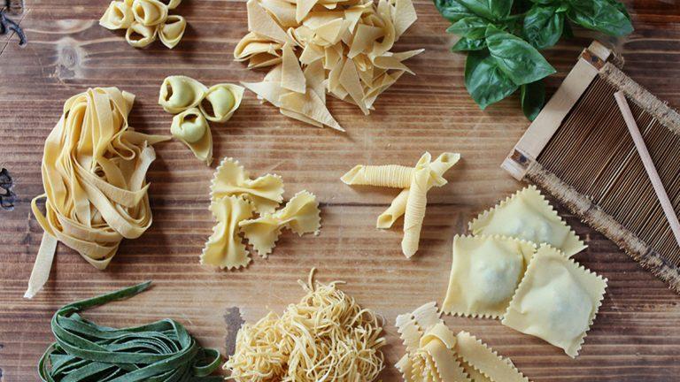 Pasta italiana casera