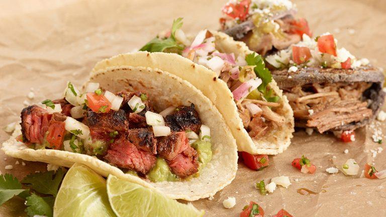 Comida desde las calles de México: Tacos y Salsas