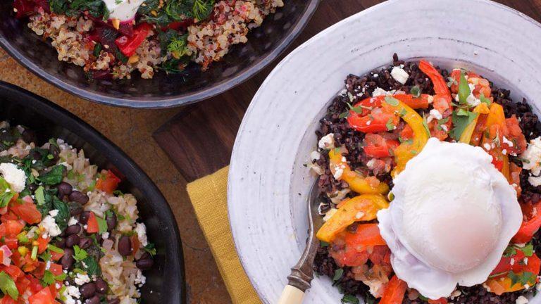 Big Bowls: comidas vegetarianas abundantes