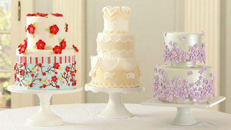 Pasteles de boda de ensueño