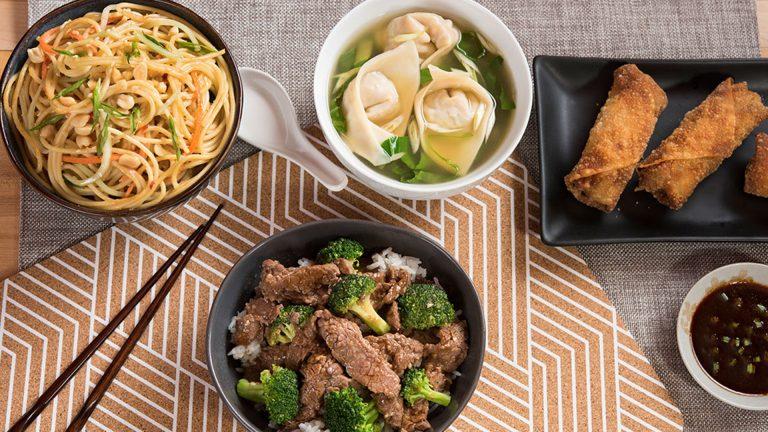 Los favoritos de la comida china hechos en casa