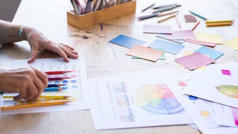 Biblioteca de principiantes: Lápices de colores
