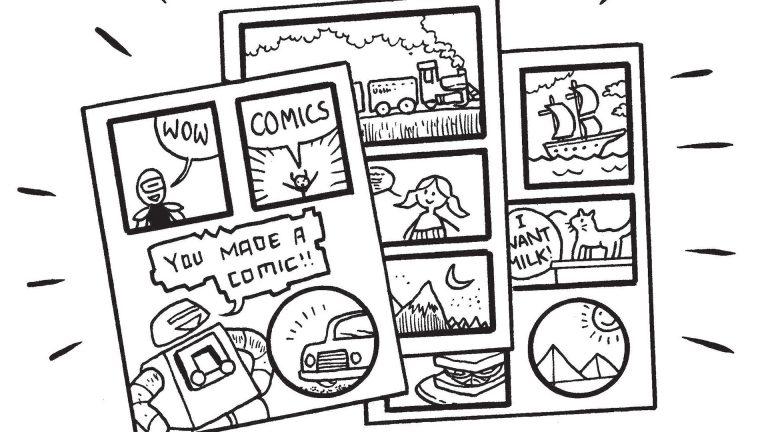 ¡Tinta fuera de la caja! Cómo hacer un cómic