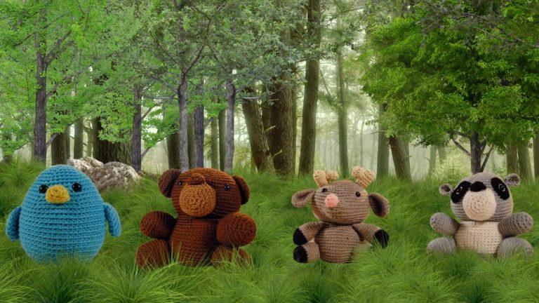Amigurumi: Animales del bosque