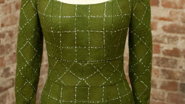 El vestido de alta costura