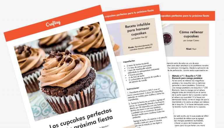 Guía de cupcakes perfectos para tu próxima fiesta