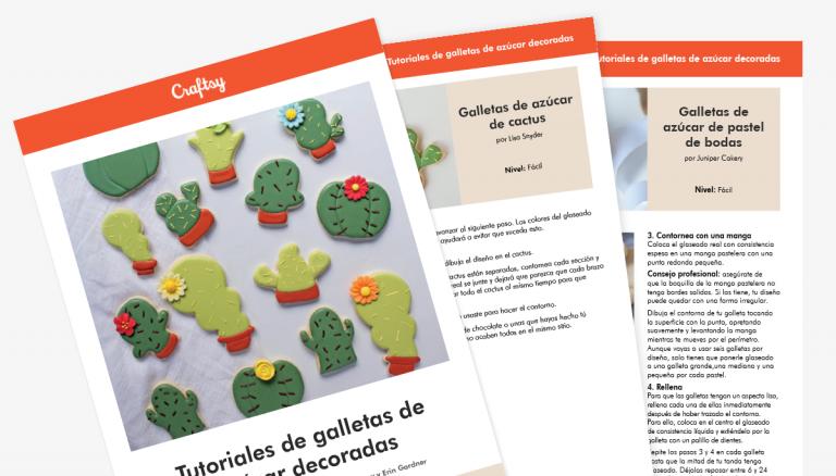 Guía de tutoriales de galletas de azúcar decoradas