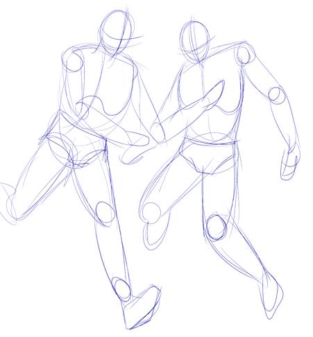 Esquemas de dibujo / pautas para dibujar