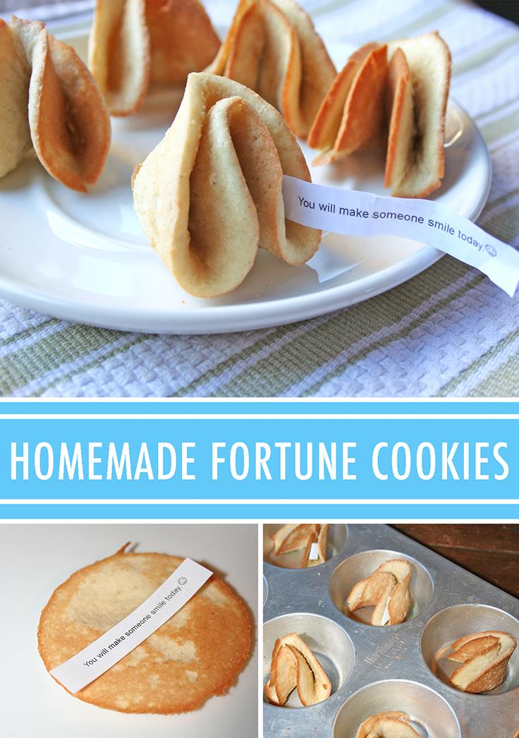 Cómo hacer galletas de la suerte