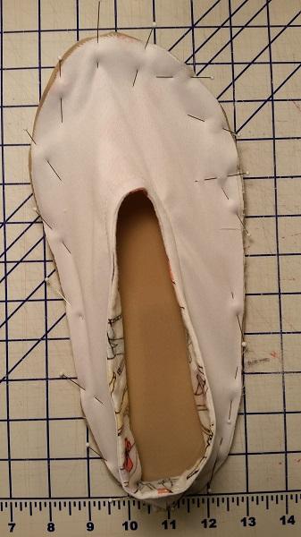 pin RS de la tapa superior a la parte inferior de la suela