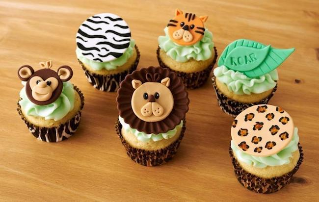 Fondant Cupcake Toppers by Instructor Lynlee Beckett